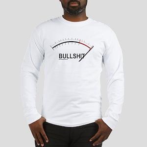 Bullshit Meter2 Long Sleeve T-Shirt