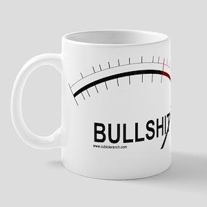 Bullshit Meter2 Mug