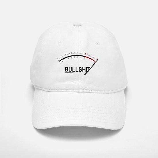 Bullshit Meter2 Baseball Baseball Cap