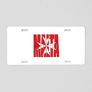 Malta Aluminum License Plate