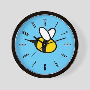 bee-big_cl Wall Clock