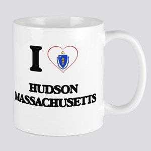 I love Hudson Massachusetts Mugs