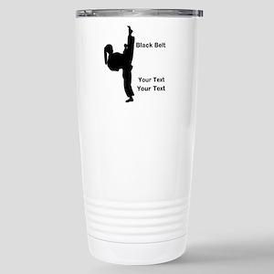 Martial Arts Stainless Steel Travel Mug