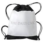 The Daily Civic Drawstring Bag