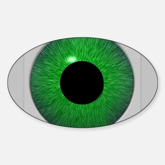 """""""You're Being Watched"""" oval Decal"""