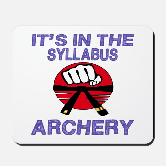 It's in the Syllabus Archery Mousepad