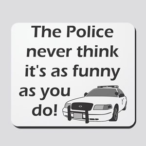 Police Funny Mousepad