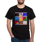 Fancy Colours Dark T-Shirt