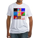 Fancy Colours Fitted T-Shirt