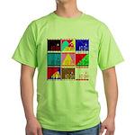 Fancy Colours Green T-Shirt