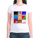 Fancy Colours Jr. Ringer T-Shirt