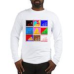 Fancy Colours Long Sleeve T-Shirt