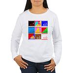 Fancy Colours Women's Long Sleeve T-Shirt