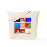 Fancy Colours Tote Bag