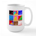 Fancy Colours Large Mug