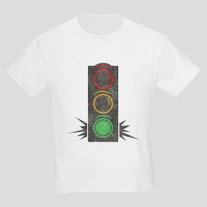 Vintage Trafficlight Kids Light T-Shirt