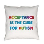 Autism Acceptance Everyday Pillow