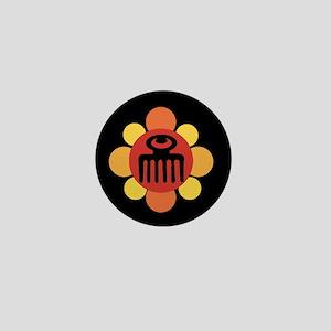Duafe Flower Mini Button