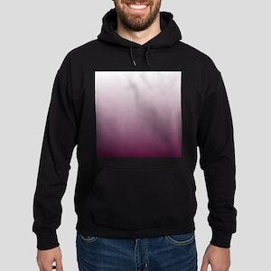 white burgundy ombre Hoodie (dark)