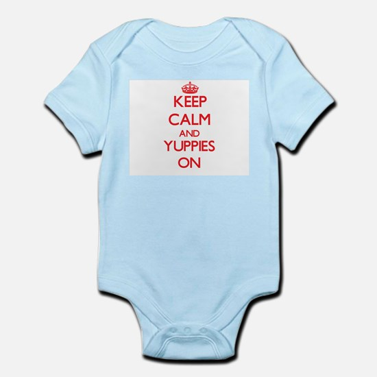 Keep Calm and Yuppies ON Body Suit