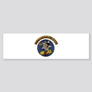 64th Bombsquadron with Text Sticker (Bumper)