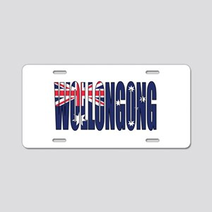Wollongong Aluminum License Plate