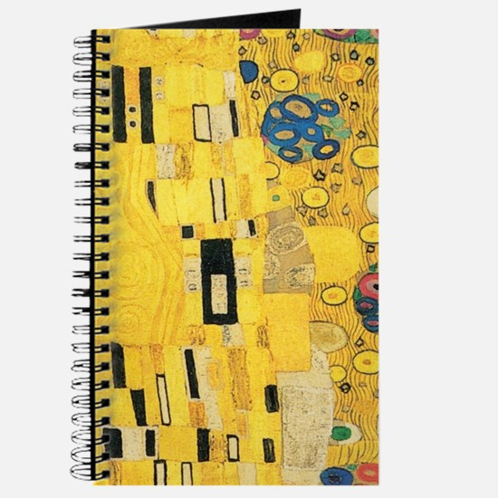 Klimt the Kiss Pattern Detail Journal
