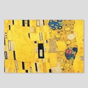 Klimt the Kiss Pattern De Postcards (Package of 8)