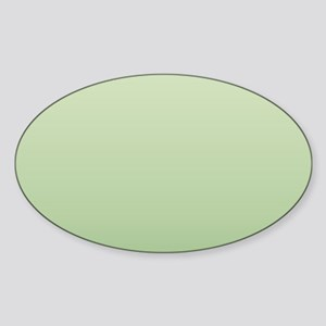 mint green ombre Sticker