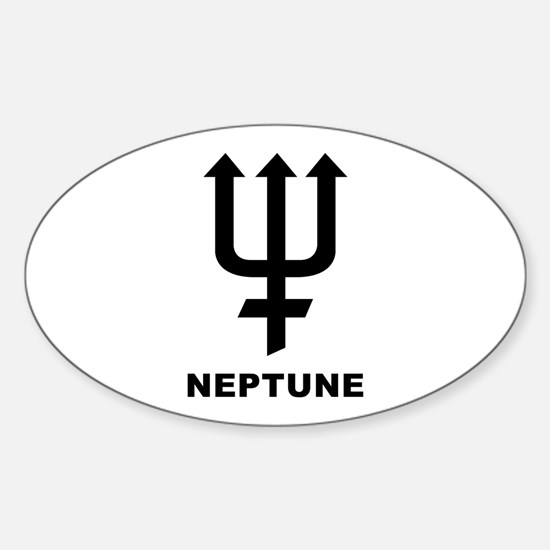 Neptune Oval Decal