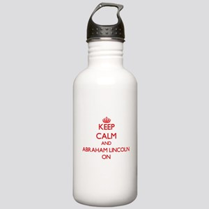 Keep Calm and Abraham Stainless Water Bottle 1.0L
