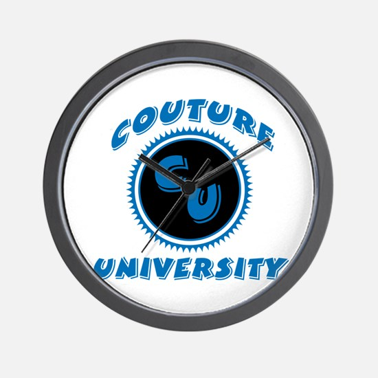 Couture University Wall Clock