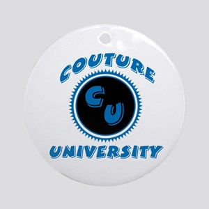 Couture University Ornament (Round)