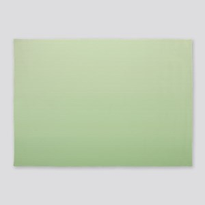 mint green ombre 5'x7'Area Rug