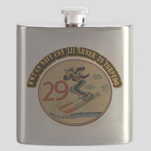 WW2 US Navy USN 'Lil Abner' 29 Torpedo - Wit Flask