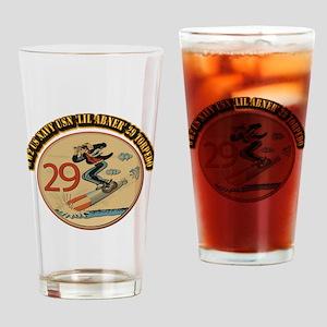 WW2 US Navy USN 'Lil Abner' 29 Torp Drinking Glass