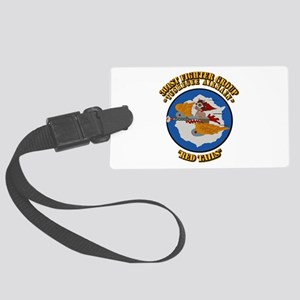 WWII Tuskegee Airmae Red Tail 30 Large Luggage Tag