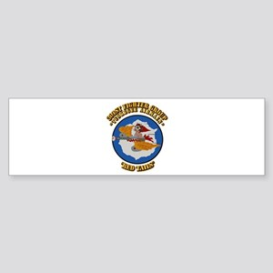 WWII Tuskegee Airmae Red Tail 301 Sticker (Bumper)