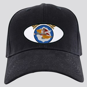 WWII Tuskegee Airmae Red Tail 301st FG F Black Cap