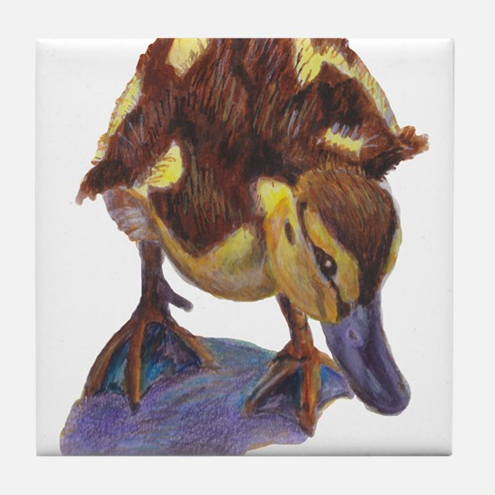Unique Baby duck Tile Coaster