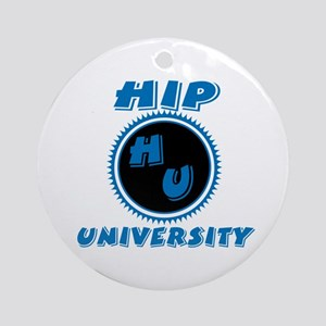 Hip University Ornament (Round)