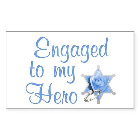 Engaged Deputy Rectangle Sticker