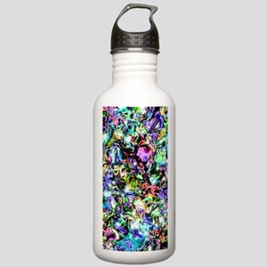 Sparkly rainbow Liquid Stainless Water Bottle 1.0L