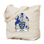 James Family Crest Tote Bag