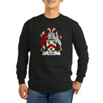 Jacob Family Crest Long Sleeve Dark T-Shirt