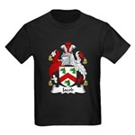 Jacob Family Crest Kids Dark T-Shirt