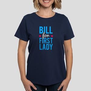 Bill for First Lady Women's Dark T-Shirt