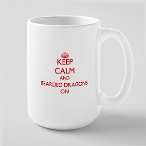 Keep Calm and Bearded Dragons ON Mugs