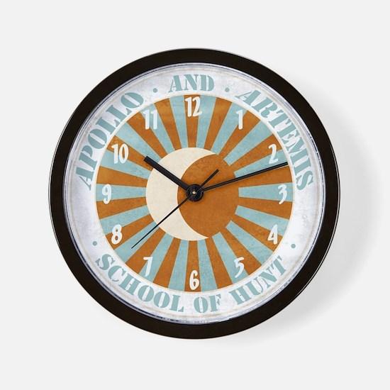 Apollo & Artemis Wall Clock