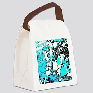 Shards Canvas Lunch Bag
